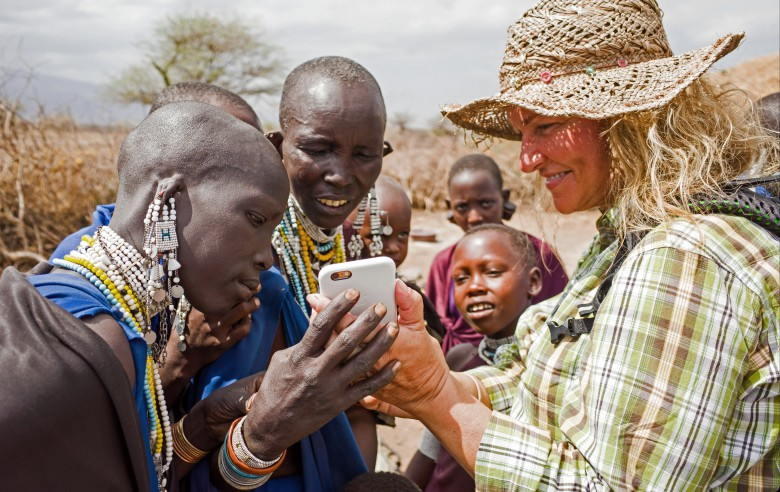 Mobilsamvaro i norra Tanzania