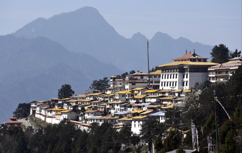 Tawang klostret är en mäktig syn