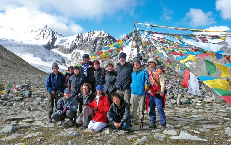 Gruppen som gjorde vandringen 2010