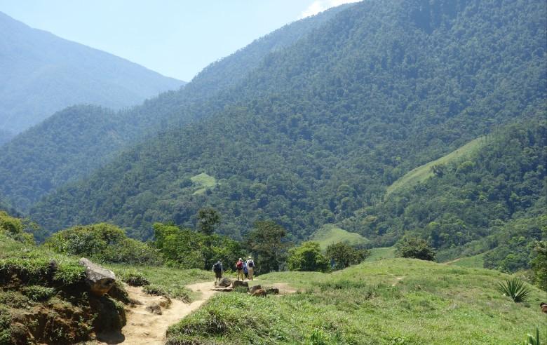 Vandringen till Ciudad Perdida är en spektakulär naturupplevelse
