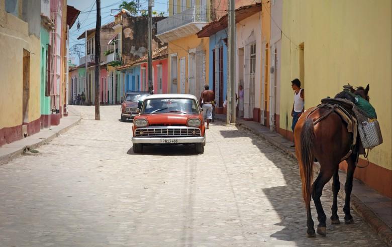 Trafiken i Trinidad.