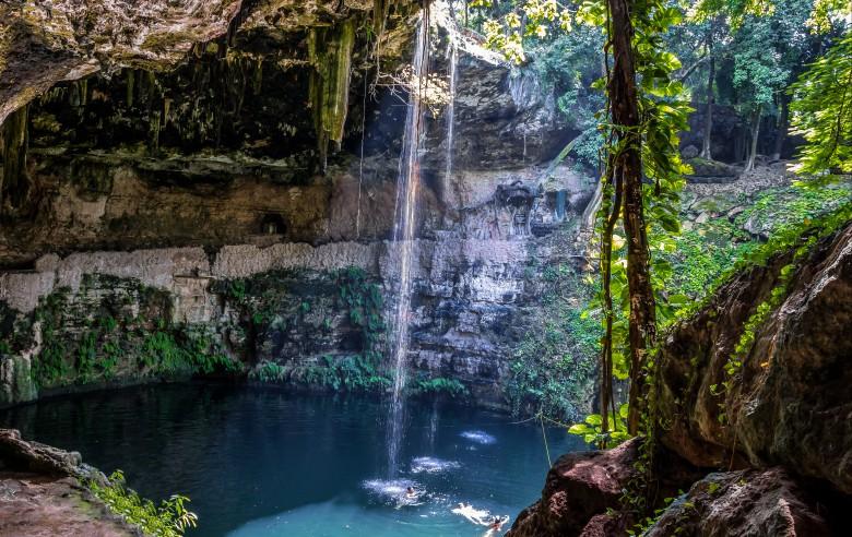 Cenotes på Yucatánhalvön