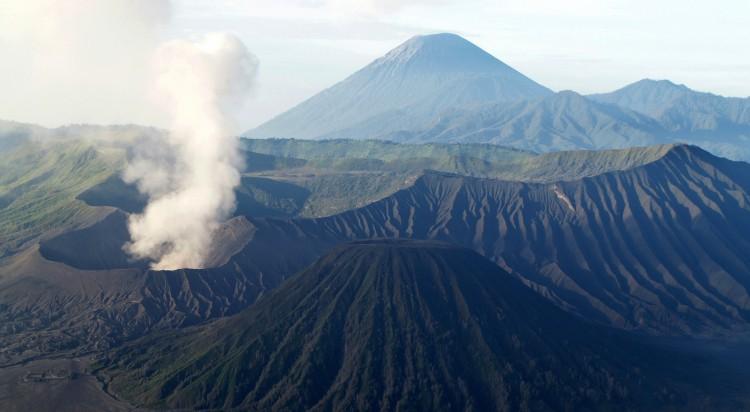 aktiva vulkaner